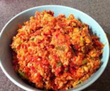 Sundried tomato & capsicum dip