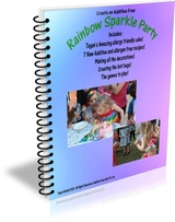 Rainbow Sparkle Book